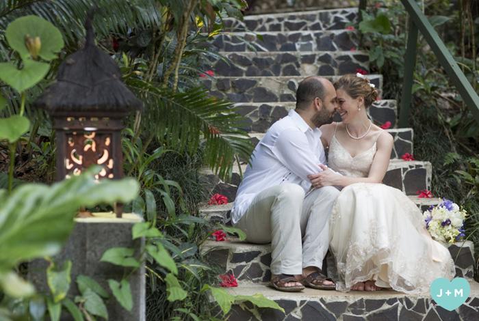 Waterfall Wedding Reception