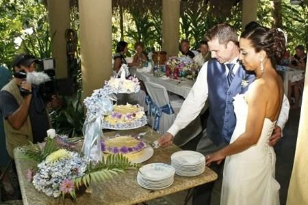Exotic Wedding Ceremony at Waterfall Villas