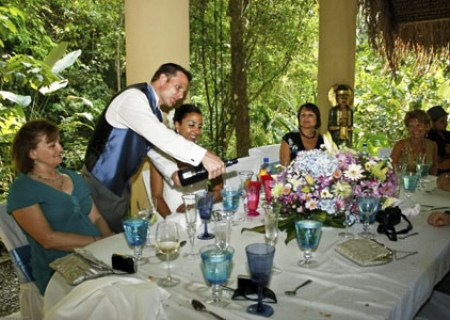 Costa Rica Wedding Menu