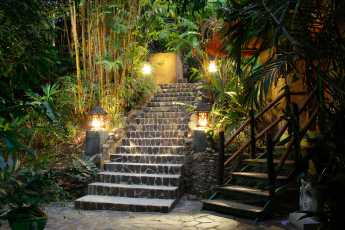 Entrance to the Jade Spa Villa
