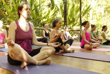 yoga retreats at waterfall villas