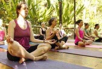 yoga retreats at waterfall villas