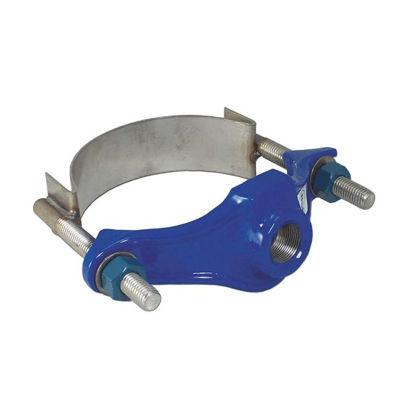 315 Service Saddle Single Stainless Steel Strap