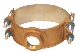 325 Bronze Service Saddle Extra Wide Stainless Strap
