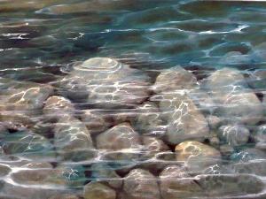 water, stream, pebbles 13 (widget)