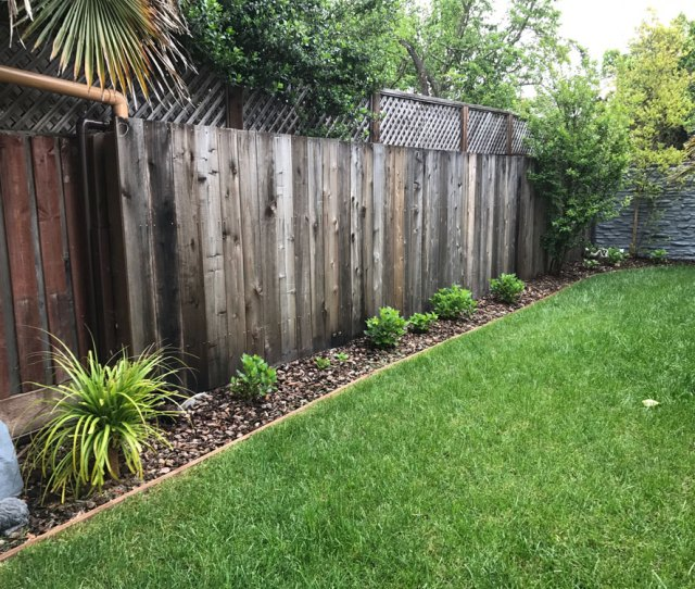 Waterfence Wood Covering