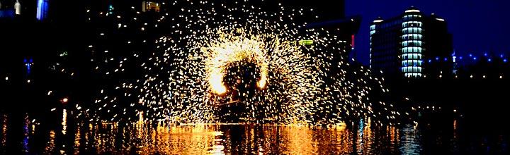 A Spogga performance, photo by John Nickerson.