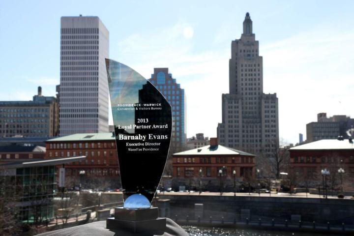 The PWCVB Ambassador Award.