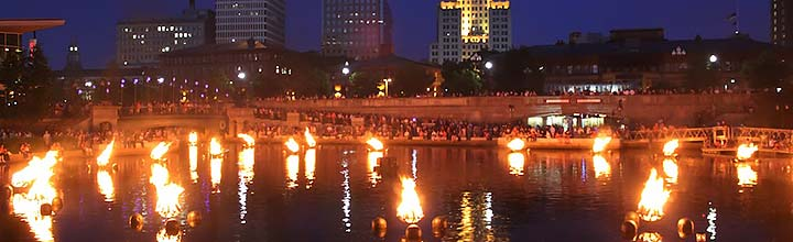 Big Bang Science Fair at WaterFire Providence on September 22, 2018