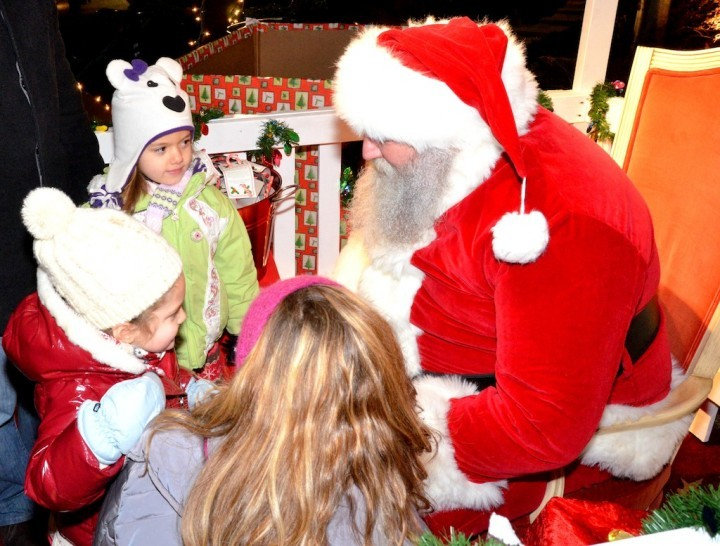 2013 WaterFire Christmas Santa's Village. Photo by John Nickerson.