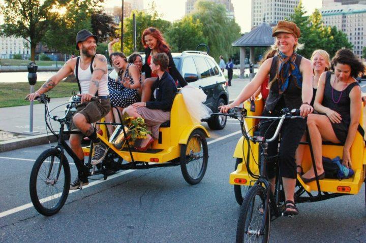 Sol Chariots Pedicab