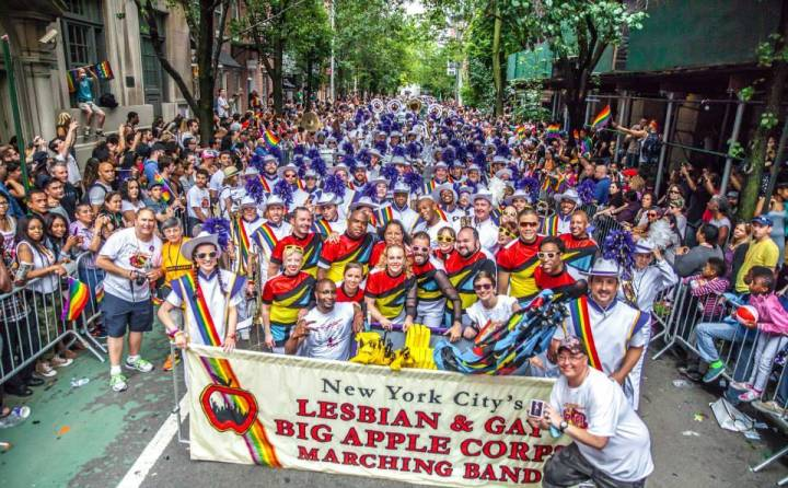 Lesbian and Gay Big Apple Corps Marching Band