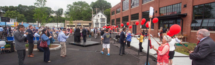 The Ribbon Burning at the WaterFire Arts Center was huge a success!