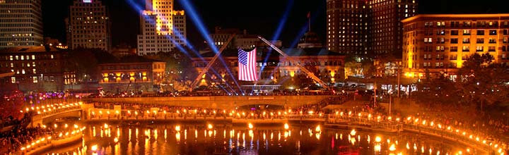 November 4th, 2017 – WaterFire Salute to Veterans