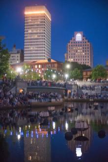 Providence and the Bridge of Stars, photograph by Jen Bonin.