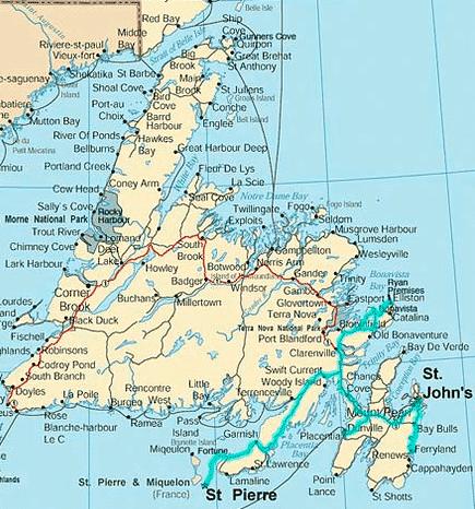 Newfoundlandmap