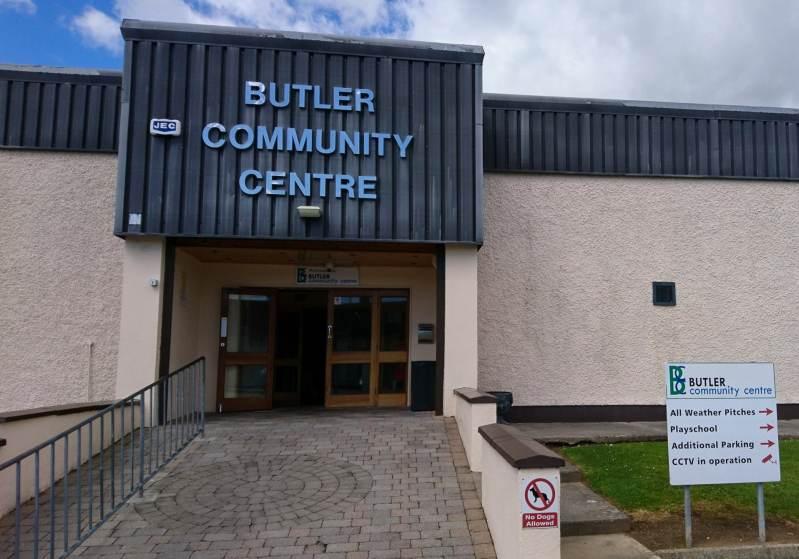 Butler Community Centre Exterior