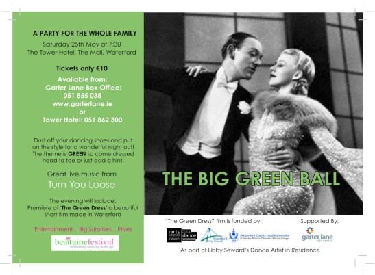 The Big Green Ball Flyer