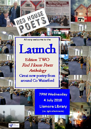 Red House Poets Launch Lismore Library 7PM 4 July 2018