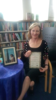 Niamh MacCabe, Winner of the Molly Keane Creative Writing Award 2016