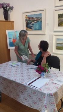 Lani O' Hanlon at her book signing