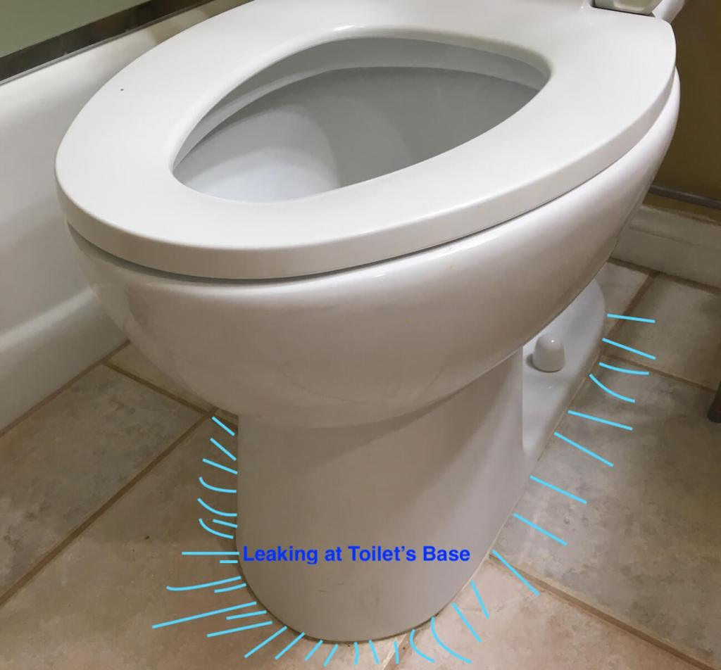 Toilet Leaking At Base In Fallbrook Vista Temecula Oceanside