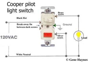 How To Wire Single Pole Light Switch with Pilot Light | Terry Love Plumbing & Remodel DIY