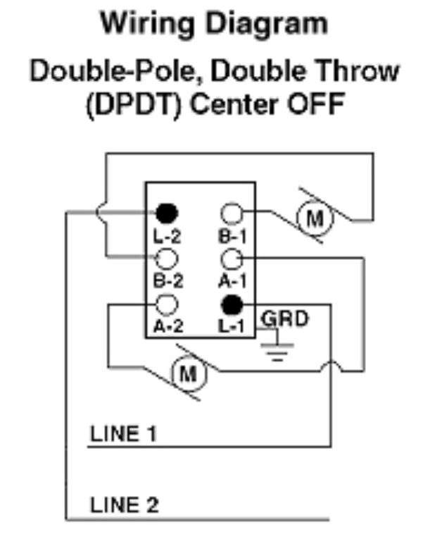 Wiring Diagram Double Pole Throw Toggle Switch
