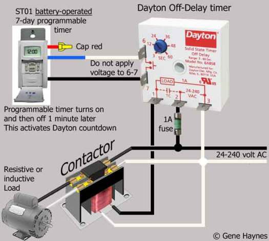 Dayton Time Delay Relay Wiring Diagram – Periodic