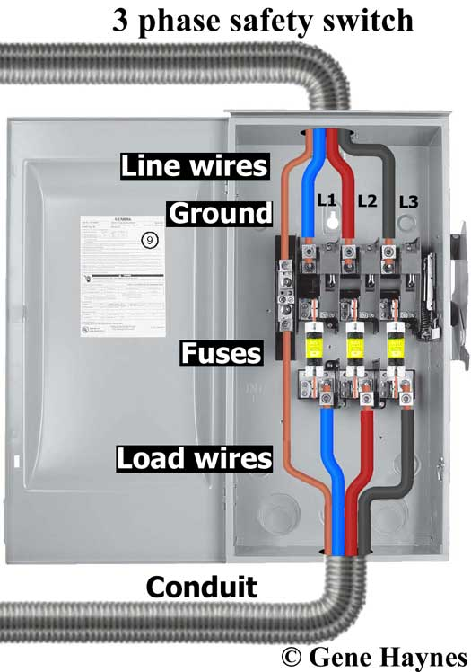 240 volt 30 amp fused disconnect wiring diagram