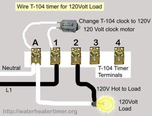 T101 Intermatic 120 Volts Wiring Diagram | Online Wiring Diagram