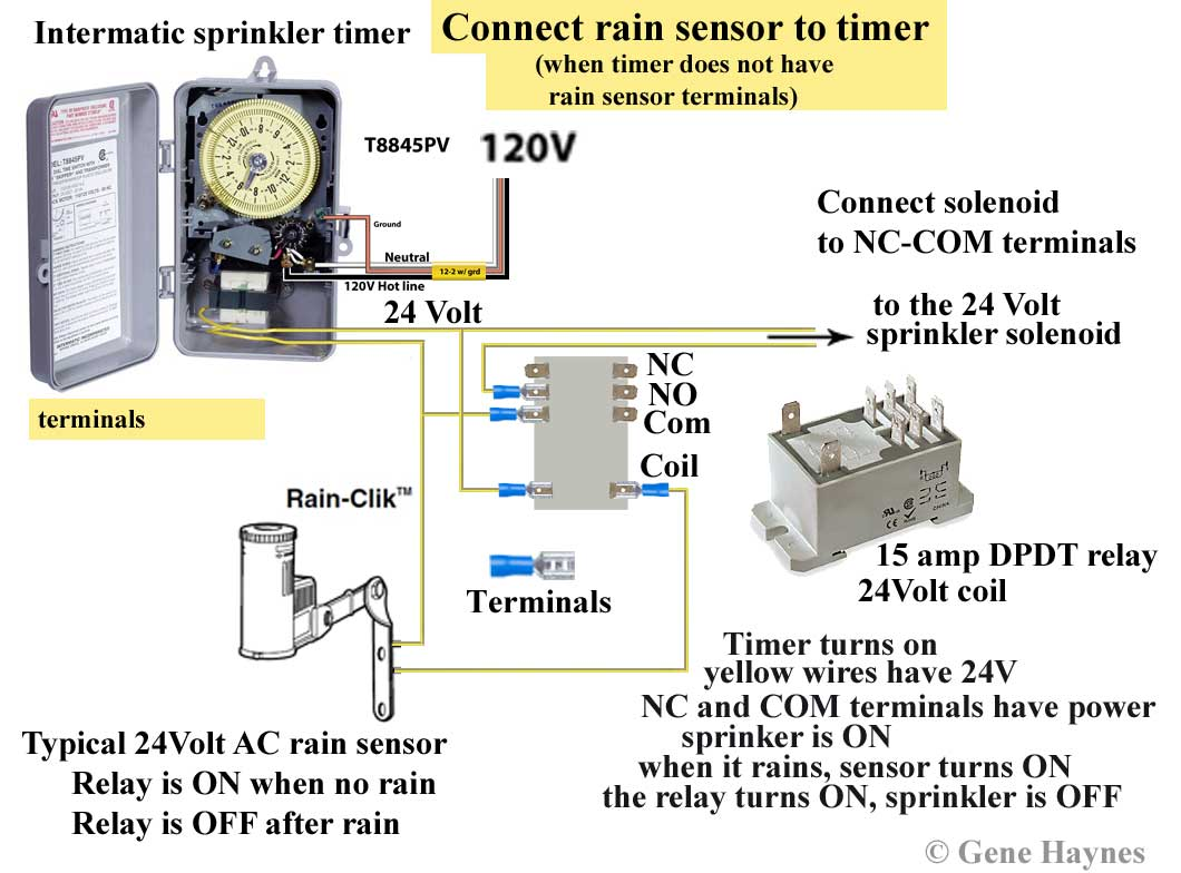 connect relay to timer and rain sensor?resize\=665%2C474 spdt intermatic t106m wiring diagram wiring diagram simonand intermatic pf1202t wiring diagram at creativeand.co