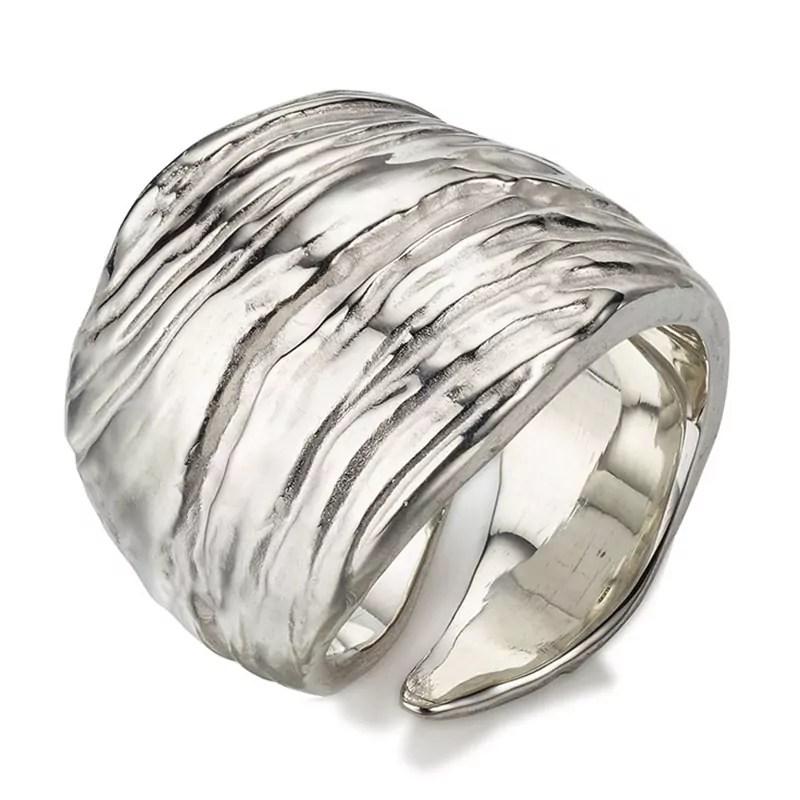Ring Driftwood aus Silber