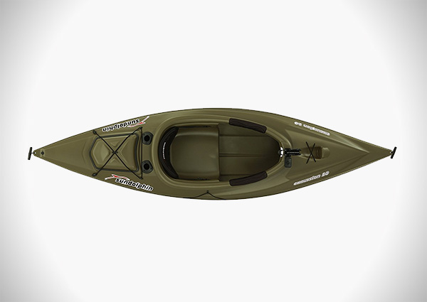 Sun Dolphin Excursion SS 10-Foot Sit-in Fishing Kayak