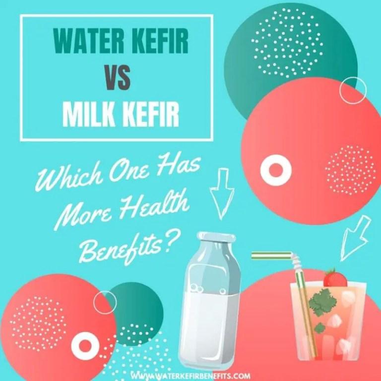 Water Kefir vs Milk Kefir Which One Has More Health Benefits