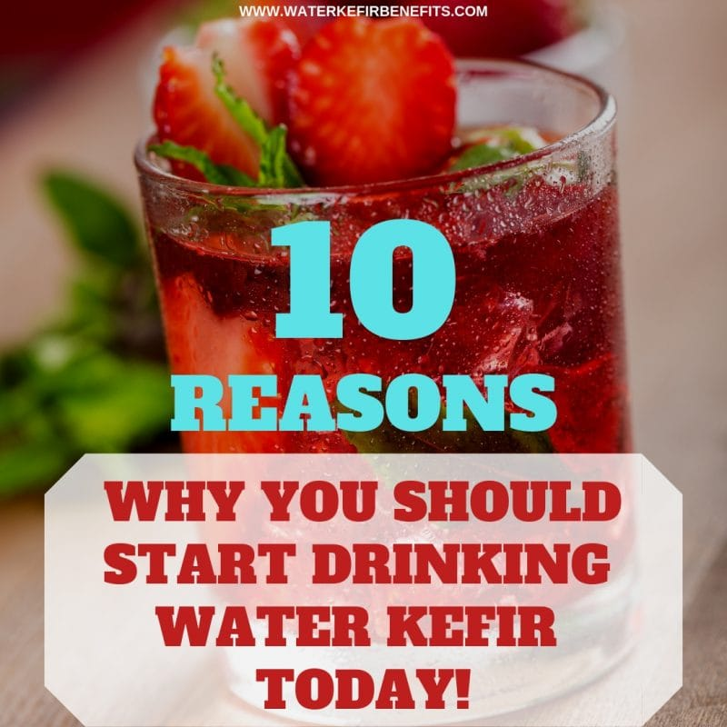 10 Reasons Why You Should Start Drinking Water Kefir TODAY!
