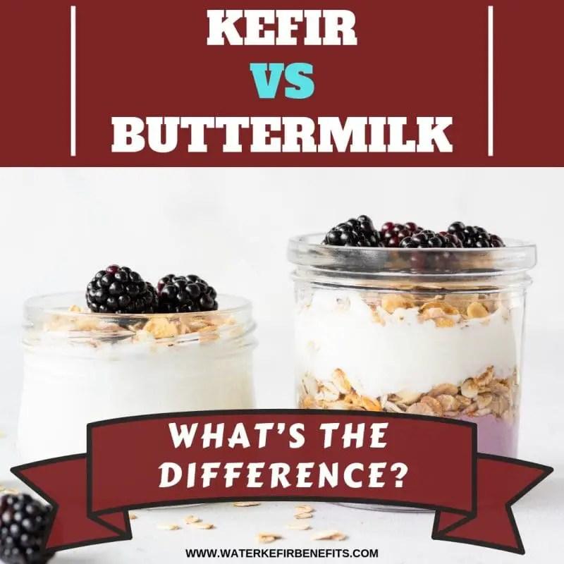 Kefir vs Buttermilk