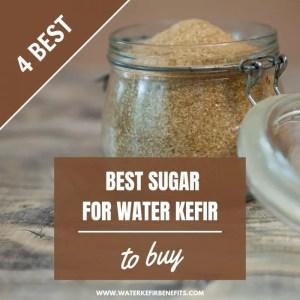 Choosing the Best Sugar for Water Kefir 4 Best Types of Sugar to Buy.