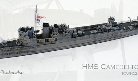 RN Town Class DD HMS Campbeltown