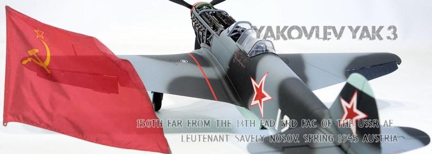 USSRAF Yakovlev Yak-3