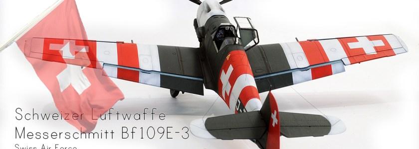 Schweizer Luftwaffe Messerchmitt Bf109E-3