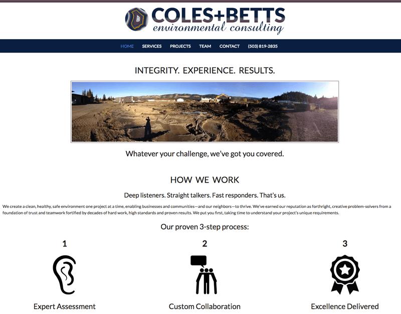 Coles and Betts screenshot