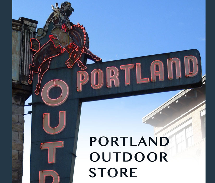 Portland Outdoor Store iconic neon sign