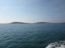 Bryher from the boat