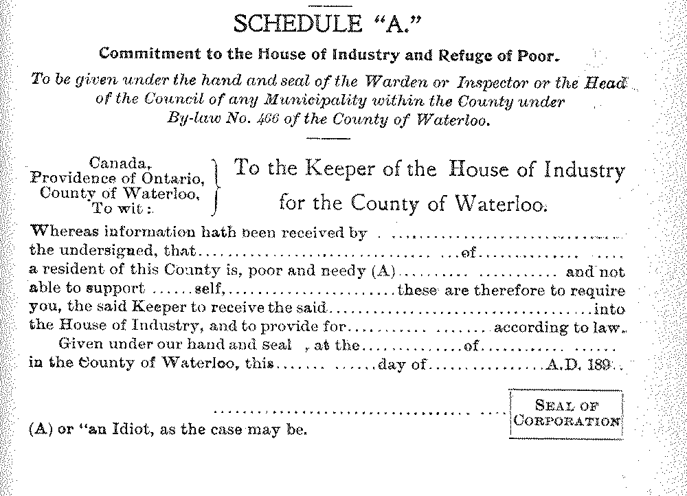 by-Law 466; Source: Region of Waterloo Archives