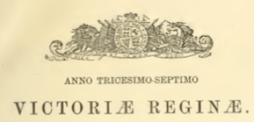 Crest from the Sessional Papers of the Ontario Parliament. Source: Internet Archive