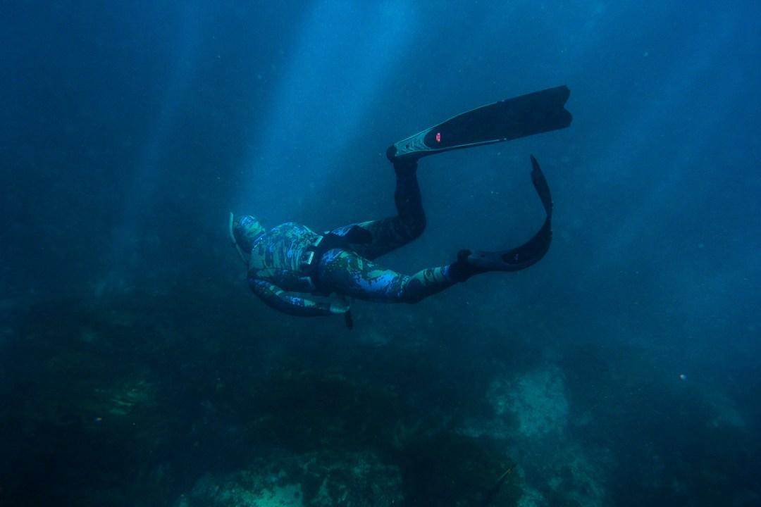 Freediving ocean expedition, Melbourne, Victoria