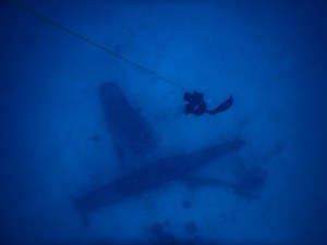 Freediving Plane Wrecks in the Tropics