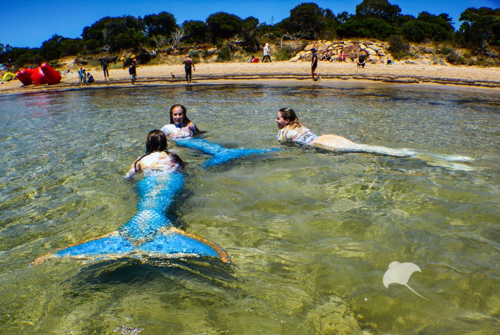 Mermaids at Portsea beach