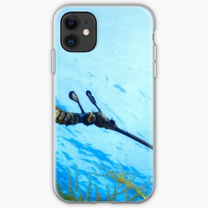 iPhone Soft Cover Case Weedy Seadragon